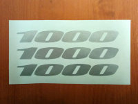 SUZUKI GSXR DECALS STICKERS 1000 TANK BIKE MOTORCYCLE