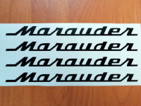 SUZUKI MARAUDER  DECALS STICKERS BIKE MOTORCYCLE