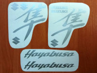 SUZUKI HAYABUSA GSXR DECALS STICKERS HELMET BIKE MOTORCYCLE GSX-R