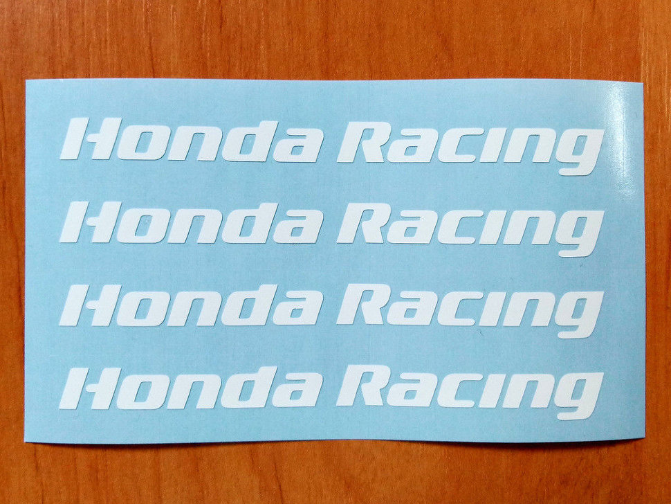 Honda Racing Door Handle Decal Sticker Logo Type R Accord
