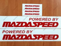 Powered by MAZDASPEED Mazda RACING RX7 RX8 Decal Sticker Emblem Logo
