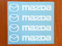 Mazda Door Handle Decal Sticker emblem mazda 3 mazda 6 cx-5 Miata Logo