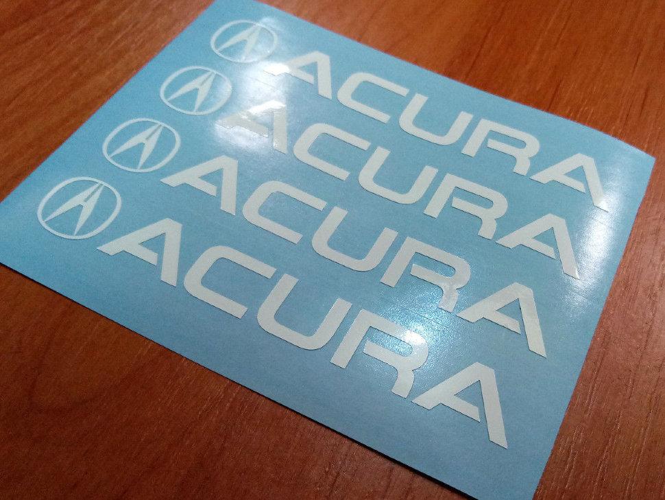 Acura Door Handle Decal Sticker Logo Tsx Tl Tlx Rl Mdx Rdx