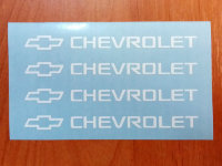 Chevrolet Door Handle Decal Sticker logo Silverado Truck logo impala SS