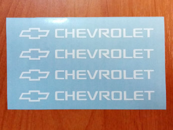 Chevrolet Door Handle Decal Sticker Logo Silverado Truck