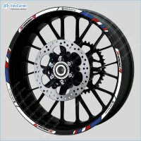 BMW S1000R  Motorrad Motorsport Motorcycle Wheel Rim Decals Stickers Stripes