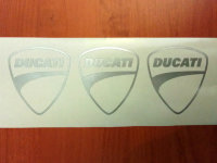 DUCATI HELMET Decals Sticker Vinyl Die Cut Self Adhesive Motorcycl