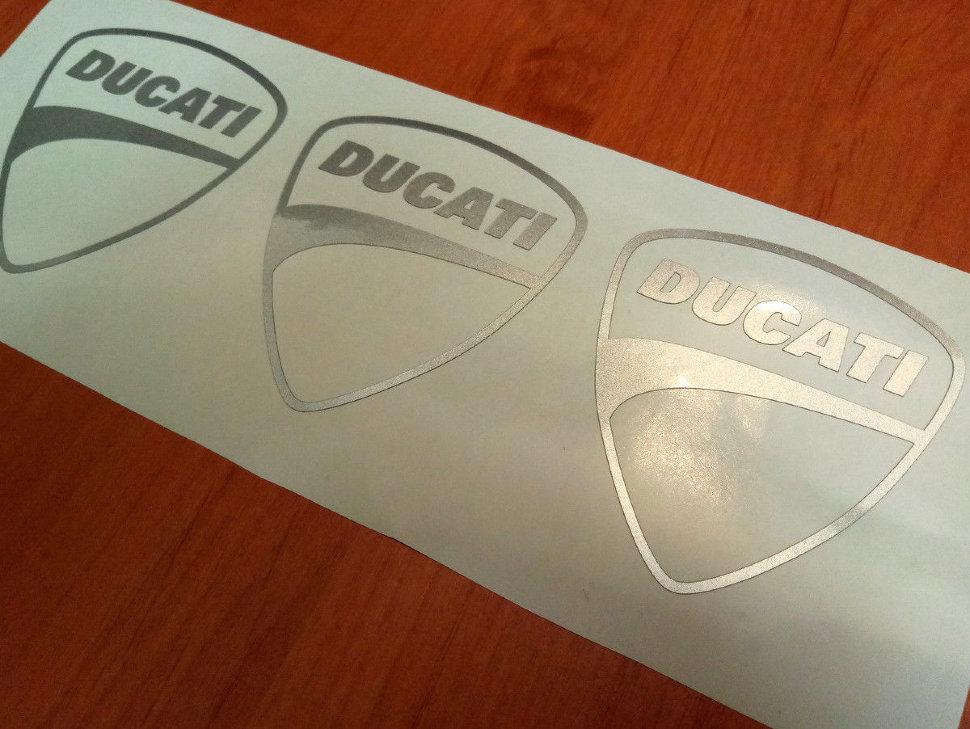 helm stickers ducati