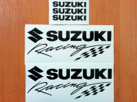 SUZUKI Racing Premium Motorbike Vinyl Stickers Decals Graphics GSXR