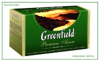 Fragrant Greenfield Premium Assam Black Tea Bags 25pcs