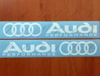 Audi Performance Alt Premium Cast Skirt Decals Stickers RS A3 A4 Quattro