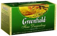Greenfield Fine Darjeeling Black Tea Bags 25pcs