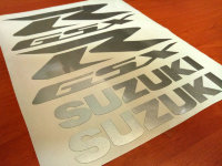 SUZUKI GSXR FAIRING DECALS STICKERS 600 750 1000 1100 TANK BIKE MOTORCYCLE