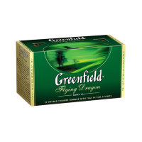 Greenfield Flying Dragon Green tea Bags 25pcs
