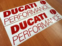 DUCATI Performance Superior Cast Motorbike Stickers Decals 988 966