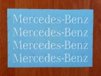 Mercedes Benz Sport Racing Window Decal Sticker Emblem Logo