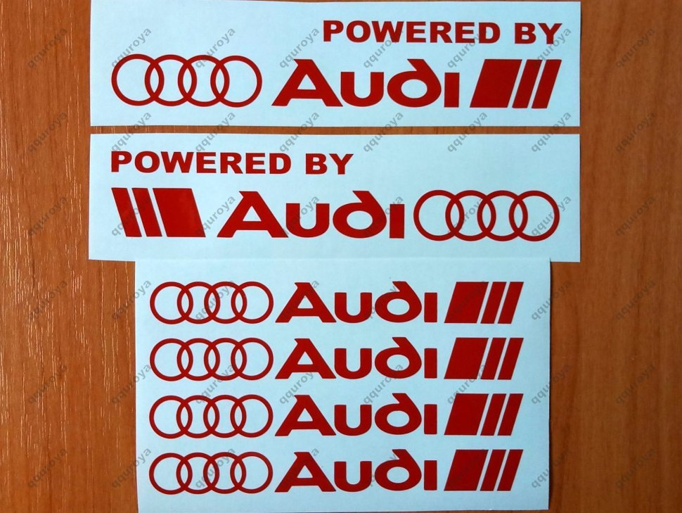 Ed By Audi Racing Sport S Line Window Decal Sticker Emblem Logo