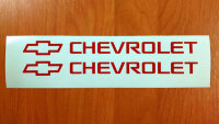 Chevrolet Die Cut Car Auto Decals Stickers Vinyl Self Adhesive EmblemLogo 029