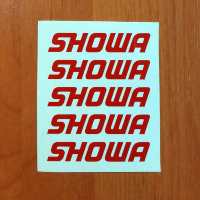 SHOWA Die Cut Decals Stickers Vinyl Self Adhesive Emblem Logo