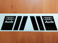 AUDI Car Auto Door Fender Window Hood Bumper Die Cut Decals Stickers Vinyl